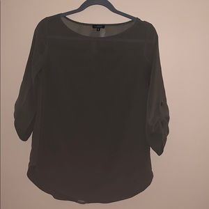 Dynamite size small army green blouse